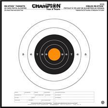 CIBLE CHAMPION ADHESIVES RE-STICK - 36,83 X 36,83 CM