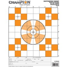 CIBLE PAPIER CHAMPION SHOTKEEPER 1 MIRE