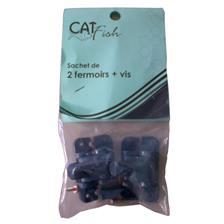 CLASPS + SCREW CATFISH - PACK OF 2