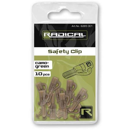 CLIP PLOMB RADICAL SAFETY CLIP - PAR 10