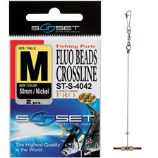 CLIPOT SUNSET FLUO BEADS CROSSLINE ST-S-4042 - PACK OF 2