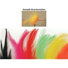 COCK FEATHER TOF HACKLE STREAM SHORT