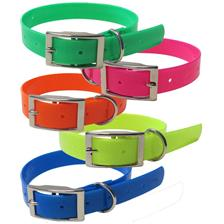 COLLIER CHIEN COLOMBI SPORTS FLUO BIOTHANE BIOGOLD
