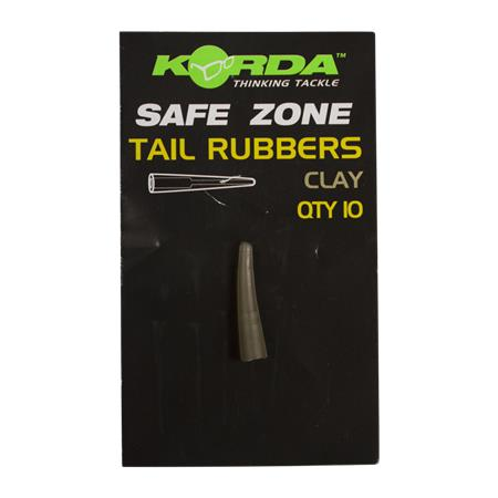 CONE ASSEMBLY CARP KORDA SAFE ZONE RUBBERS - PACK OF 10