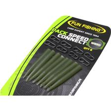 CONE STOPPER + EMERILLÓN FUN FISHING PACK SPEED-CONNECT & MINI SLEEVES