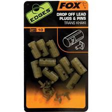 CONETOR FOX EDGES DROP OFF LEAD PLUG AND PINS - PACK DE 50