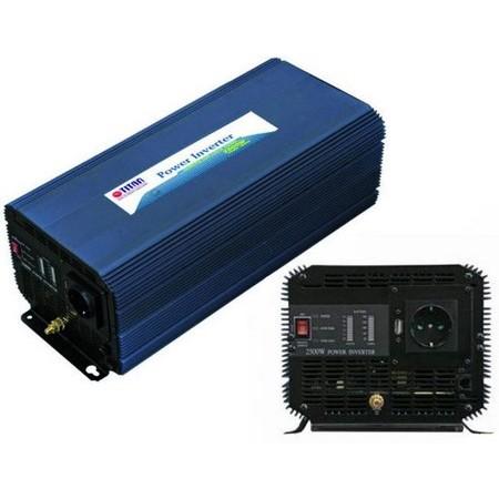 CONVERTISSEUR TITAN 12 / 220V - 2500W QUASI SINUS