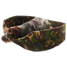 CORBEILLE CHIEN COLLECTION CAMOUFLAGE