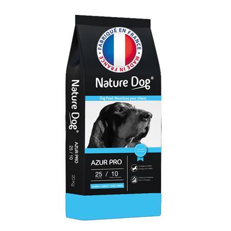 CROQUETTES CHIEN DE CHASSE NATURE DOG AZUR PRO 25/10