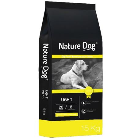 CROQUETTES NATURE DOG LIGHT 20/8