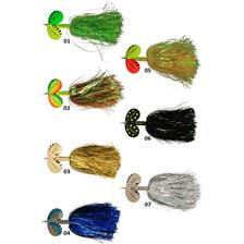 PIKE RATTLIN' SPINNER 40G FLUO YELLOW/GREEN