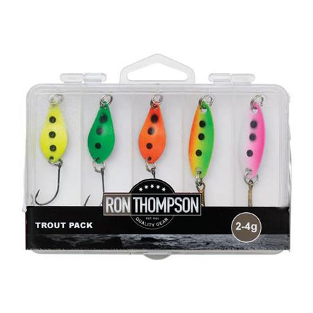 CUILLER ONDULANTE RON THOMPSON TROUT - PACK