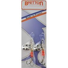 Lures Bretton SUPER CYBELE ARGENT POINTS NOIR 1G