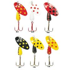 Lures Panther Martin SMALTATO CON PUNTI 2G COULEUR B/Y