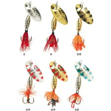 Lures Panther Martin ZAVORRA CON MOSCA 4G COULEUR G/B