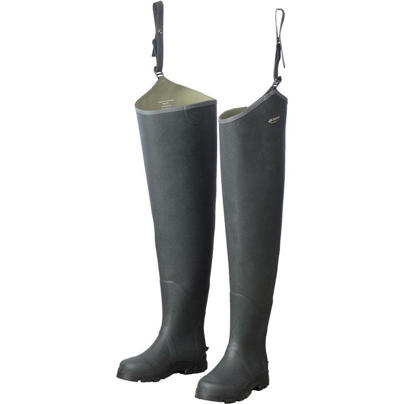 CUISSARDES RON THOMPSON RUBBER HIP DELUXE WADER - 40