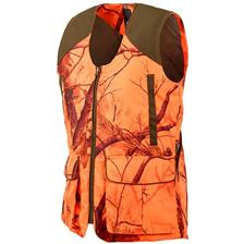 DAMEN JAGDWESTE STAGUNT LD MILANO VEST ORANGE CAMOU