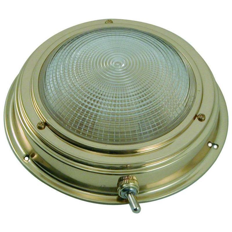 Deckenlampe rund messing euromarine for Deckenlampe rund