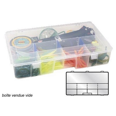 DIVISIBLE BOX FLAMBEAU TUFF TAINERS 7003R