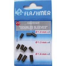 DOUBLE SLEEVE FLASHMER - PACK DE 100