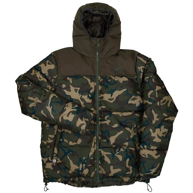 chunk homme fox Doudoune jacket camokaki dCBxoe