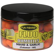 DUMBELLS FLUTUANTES FUN FISHING FLUO