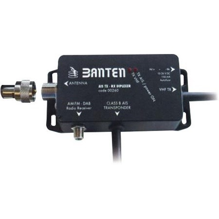 Duplexer banten for vhf/am/fm/transponder board