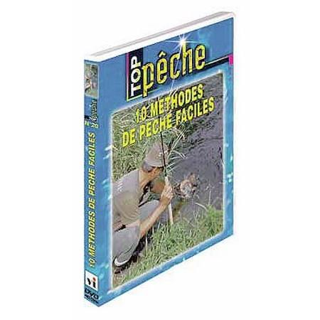 DVD - 10 METHODES DE PECHE FACILES  - MULTI PECHE - TOP PECHE
