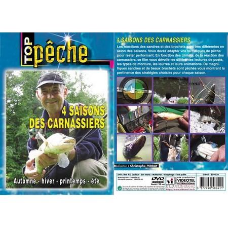 DVD - 4 SAISONS DES CARNASSIERS  - PÊCHE DES CARNASSIERS - TOP PÊCHE