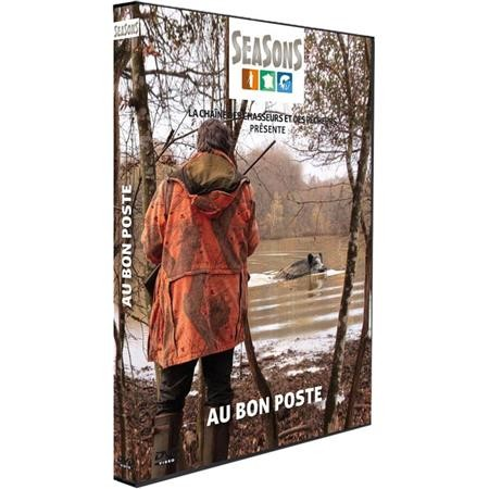 DVD - AU BON POSTE - CHASSE DU GRAND GIBIER - SEASONS