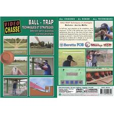 DVD - BALL-TRAP : TECHNIQUES ET STRATEGIES  - TIR SPORTIF DE CHASSE - VIDEO CHASSE