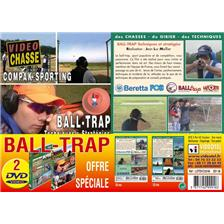 DVD - BALL TRAP - VIDEO CHASSE - LOT DE 2