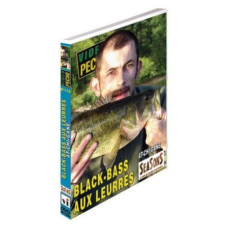 DVD - BLACK-BASS AUX LEURRES AT-CHI-GANE - PÊCHE DES CARNASSIERS - VIDÉO PÊCHE