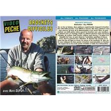 DVD - BROCHETS DIFFICILES AVEC MARC DUPUY - PÊCHE DES CARNASSIERS - VIDÉO PÊCHE