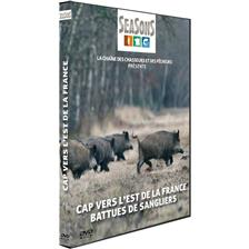 DVD - CAP VERS L'EST DE LA FRANCE : BATTUES DE SANGLIERS - CHASSE DU GRAND GIBIER - SEASONS