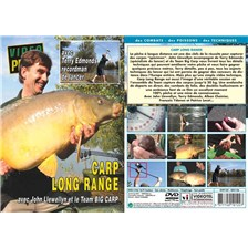 DVD - CARP LONG RANGE AVEC JOHN LLEWELLYN, TERRY EDMONDS, ALBAN CHOINIER, FRANÇOIS YDANEZ