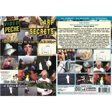 DVD - CARP SECRETS AVEC JOHN LLEWELLYN, JOHN BAKER ET DENNIS MC FETRICH - PÊCHE DE LA CARPE - VIDÉO PÊCHE
