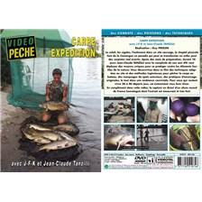 DVD - CARPE EXPÉDITION AVEC J-F-K ET JEAN-CLAUDE TANZILLI - PÊCHE DE LA CARPE - VIDÉO PÊCHE
