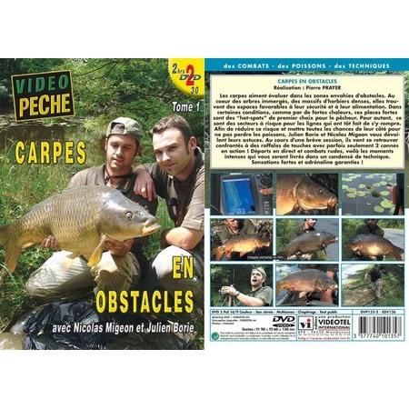 DVD - CARPES EN OBSTACLES AVEC NICOLAS MIGEON ET JULIEN BORIE