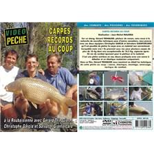 DVD - CARPES RECORDS AU COUP AVEC GÉRARD TRINQUIER - PÊCHE AU COUP - VIDÉO PÊCHE