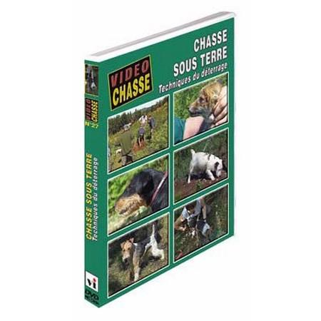 DVD - CHASSE SOUS TERRE : TECHNIQUES DE DÉTERRAGE  - CHASSE DU PETIT GIBIER - VIDÉO CHASSE