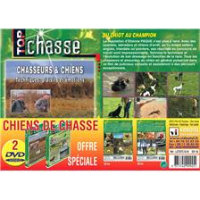 DVD - CHIENS DE CHASSE - TOP CHASSE - PACK OF 2