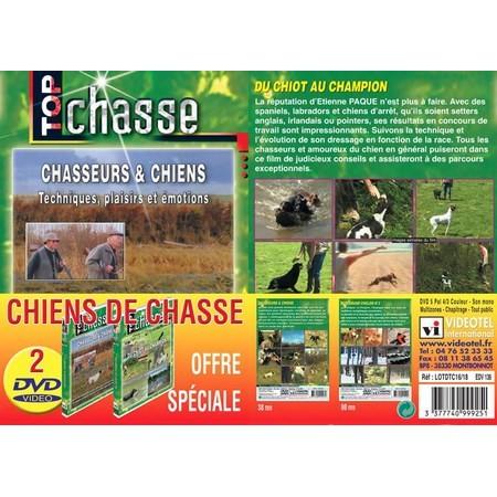 DVD - CHIENS DE JAGD   - TOP JAGD   - VE MIT 2