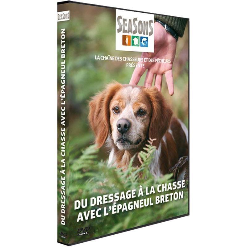 Dvd - du dressage a la chasse avec l'epagneul breton