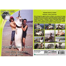 DVD - GRANDES PECHES AU GABON : BORD ET BATEAU AVEC OLIVIER CHARPENTIER - PECHE EN MER - PECHE EN LIEUX MYTHIQUES