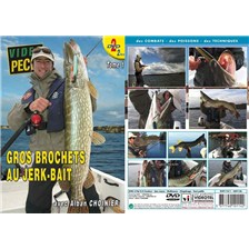 DVD - GROS BROCHETS AU JERK-BAIT (2 DVD) AVEC ALBAN CHOINIER - PÊCHE DES CARNASSIERS - VIDÉO PÊCHE