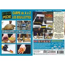 DVD - LA CARPE DE A À Z LES BOUILLETTES AVEC PHILIPPE LAGABBE - PÊCHE DE LA CARPE - VIDÉO PÊCHE