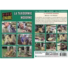 DVD - LA TAXIDERMIE MODERNE  - NATURALISATION - VIDEO CHASSE