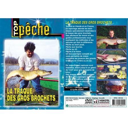 DVD - LA TRAQUE DES GROS BROCHETS  - PÊCHE DES CARNASSIERS - TOP PÊCHE