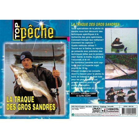 DVD - LA TRAQUE DES GROS SANDRES